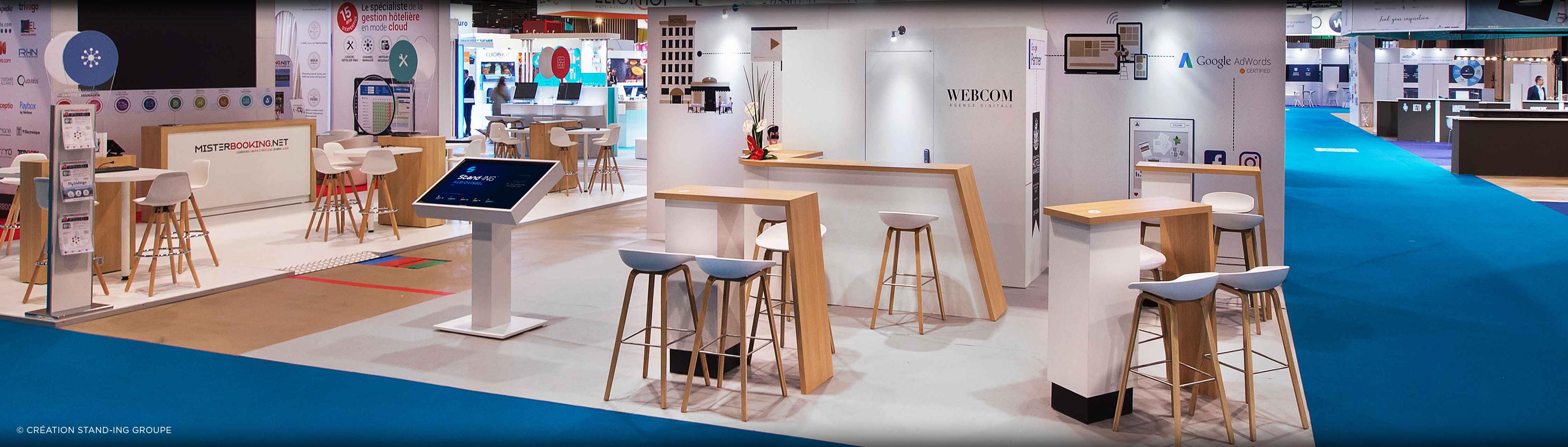 Standing menuiserie expositions salons for Menuiserie stand exposition